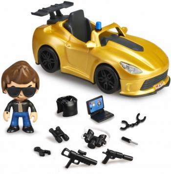 Pinypon Action Supercar Όχημα & Φιγούρα (700015150)