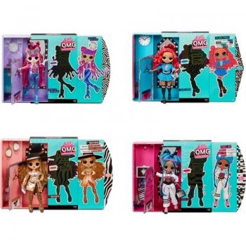 L.O.L. Surprise - O.M.G. Fashion Κούκλα Σειρά 3 - 4 Σχέδια (LLUE0000)