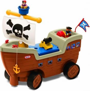 Little Tikes Πειρατικό Καράβι Ποδοκίνητο (LTT40000)