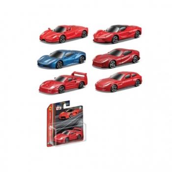 Maisto Ferrari Evalution Μεταλλική 6 Σχέδια - 1 Τεμάχιο (15508)