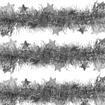 Χριστουγεννιάτικη Τρέσα  Μώβ  11 εκ x 2μ.