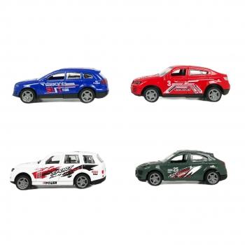 Σετ Μεταλλικά Racing Αυτοκινητάκια - 4 τμχ.