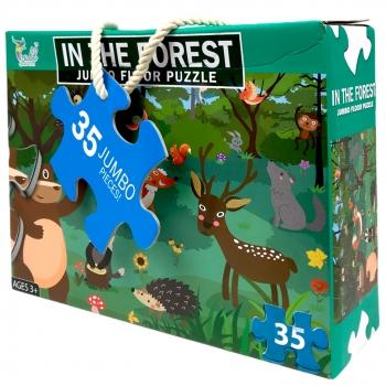 Πάζλ  Ζωάκια Δάσους  62X46 Σ30