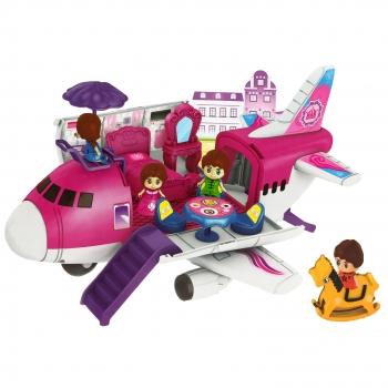 Παιχνίδι Αεροπλάνο & Κούκλες για Κορίτσι 18 Αξεσουάρ Σ9