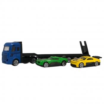 Νταλίκα Heavy Truck με 2 Super Sport Οχήματα