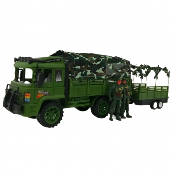 Όχημα Στρατού Φορτηγό Με Τρ\'ειλερ 53*12*17