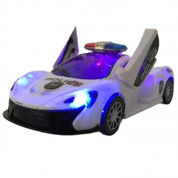 Οχημα Bump n Go Police με Φως και Μουσική 25εκ