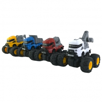 Mini Δομικα Οχήματα Stunt Truck 1:43 4ΣΧΔ
