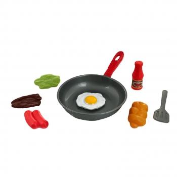 Σετ Πλαστικό Τηγάνι με Κουζινικά