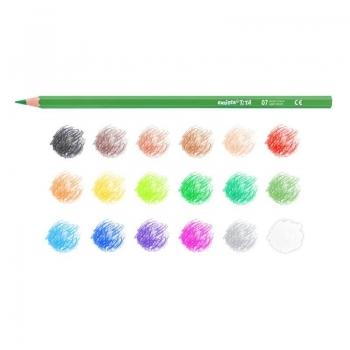 Ξυλομπογιές Carioca Tita Colored Pencils 18 Χρωμάτων (42827)