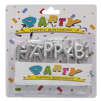 Κεριά Happy Birthday (17-47) 2 Σχέδια