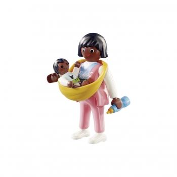 Playmobil Μαμά Με Μωρό Σε Μάρσιπο (70563)