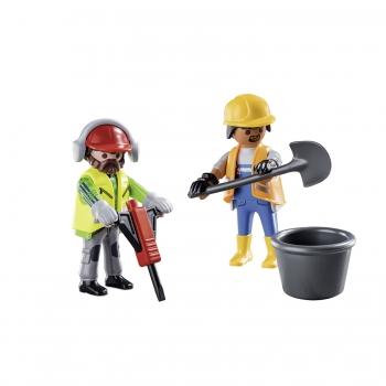Playmobil Duo Pack Εργάτες Οικοδομών (70272)