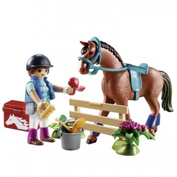 Playmobil Gift Set Φροντίζοντας Το Άλογο (70294)