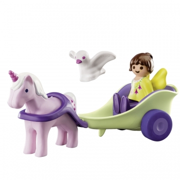Playmobil Νεραϊδοάμαξα Με Μονόκερο (70401)