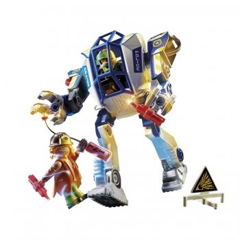 Playmobil Αστυνομικό Ρομπότ Και Ληστής (70571)