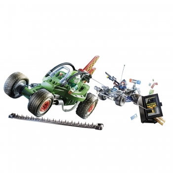 Playmobil Αστυνομική Καταδίωξη Go-kart (70577)