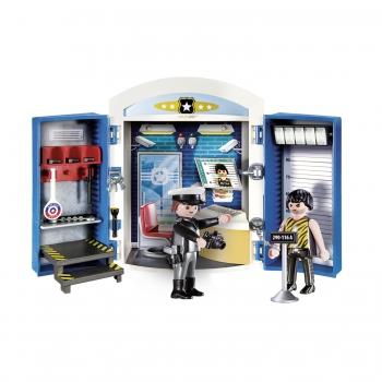 Playmobil Play Box Αστυνομικό Τμήμα (70306)