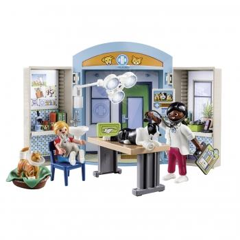 Playmobil Play Box Κτηνιατρείο (70309)