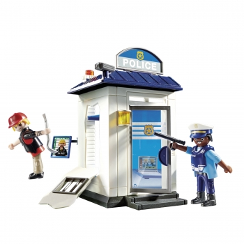 Playmobil Starter Pack Αστυνομικό Τμήμα (70498)