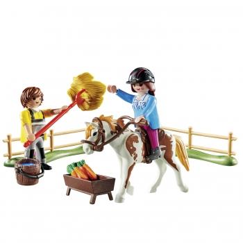 Playmobil Starter Pack Φροντίζοντας Το Άλογο (70505)