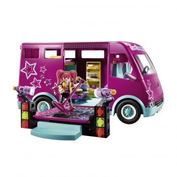 Playmobil Tourbus Music World (70152)