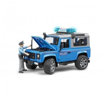 Αστυνομικό Όχημα Με Αστυνόμο Bruder Land Rover Defender (Br002597)