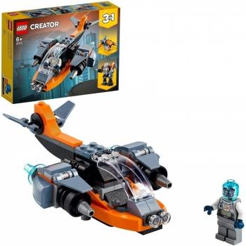LEGO Creator 3 In 1 Cyber Drone Κυβερνοντρόουν 31111