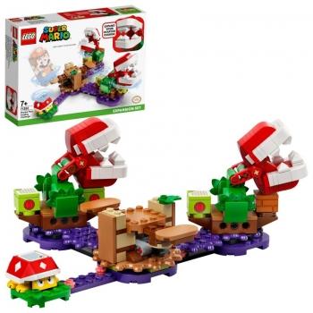 LEGO Super Mario Πίστα Επέκτασης Αινιγματική Πρόκληση Των Φυτών Πιράνχας 71382