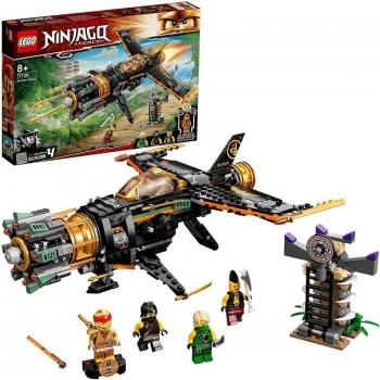 LEGO Ninjago Legacy Boulder Blaster Airplane Θραυστήρας Βράχων 71736