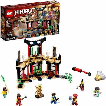 LEGO Ninjago Legacy Tournament Of Elements Temple Το Τουρνουά Των Στοιχείων 71735
