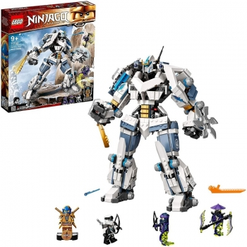 LEGO Ninjago Legacy Zanes Titan Mech Battle Ninja Μάχη Του Ρομπότ Τιτάνα Του Ζέιν 71738