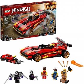 LEGO Ninjago Legacy X-1 Ninja Charger Ninja Car Εφόρμηση X-1 Νίντζα 71737