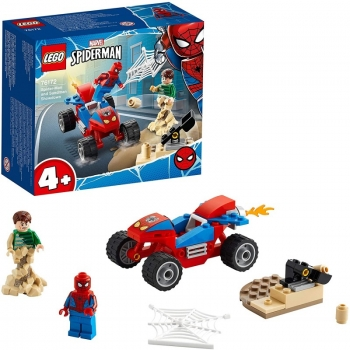 LEGO Spider-Man And Sandman Showdown Super Heroes 76172