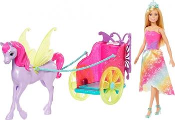 Barbie Άμαξα Και Πήγασος