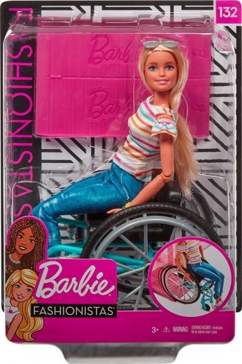 Barbie Fashionistas Me Αναπηρικό Αμαξίδιο