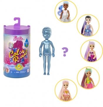 Barbie Color Reveal - Shimmer Series (5 Σχέδια)