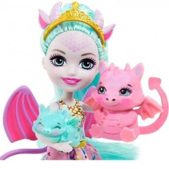 Enchantimals Royals - Κουλα & Οικογένεια Δράκοι