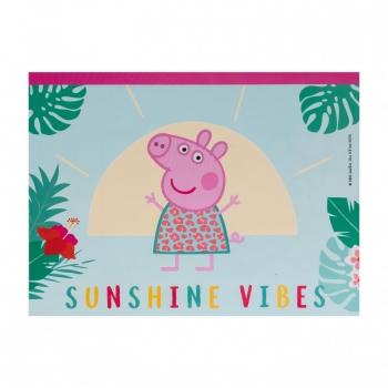 Σετ Ζωγραφικής Διάφανη Τσάντα Peppa Pig