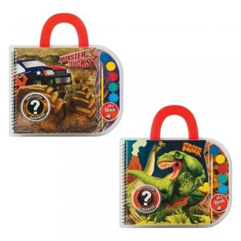 Σετ Ζωγραφικής Art Book Dinosaurs & Monster Trucks (Assrt)