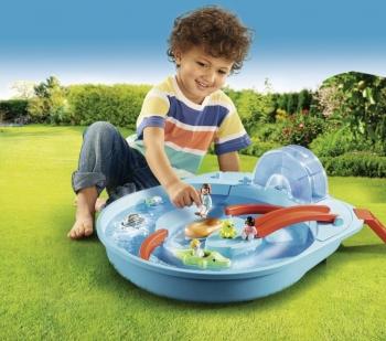 Playmobil Μεγάλο Aqua Park Με Νερόμυλο (70267)