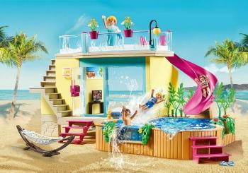 Playmobil Μπανγκαλόου με πισίνα (70435)