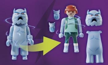 Playmobil Περιπέτεια με τον Snow Ghost (70706)