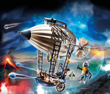Playmobil Ζέπελιν του Novelmore (70642)