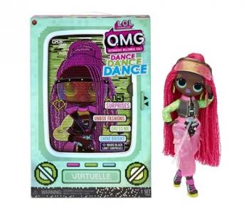 L.o.l. Surprise Κούκλα Omg Dance Asst. (Miss Royale X1, Major Lady X1, B-gurl X1, Virtuelle X1)