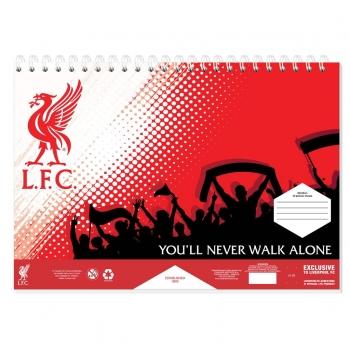 Μπλοκ Ζωγραφικής Liverpool 23x33 40φυλ Αυτοκόλλητο -στενσιλ- 2σελ Χρώματα