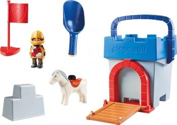 Playmobil 123 Κουβαδάκι Κάστρο Ιπποτών