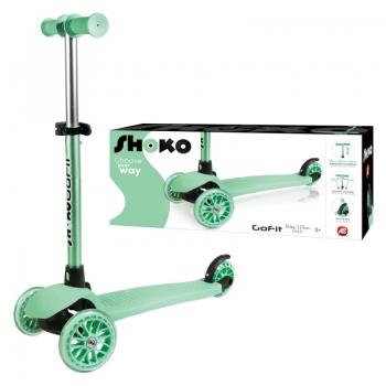 Shoko Scooter Twist & Roll Go Fit Πράσινο
