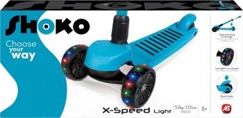 Shoko Scooter Twist & Roll Xspeed Light Με Led Φως Μπλε