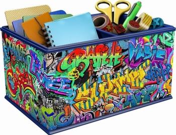 3D Puzzle 216 τεμ. Κουτί Αποθήκευσης Graffiti